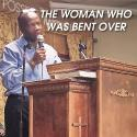 The woman who was bent over
