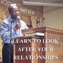 Learn to look after your relationships